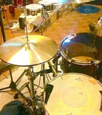 Snare and hat miking