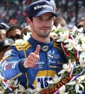 May 29, 2016 | Speedway, IN: Rookie Alexander Rossi wins the 2016 Indianapolis 500.
