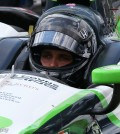 May 22, 2016 | Speedway, IN: Driver Bryan Clauson prepares to qualify for the 2016 Indianapolis 500.