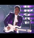 Bruno Mars Prince Tribute Slideshow