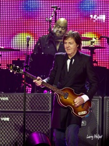 Abe Laboriel, Jr and Paul McCartney