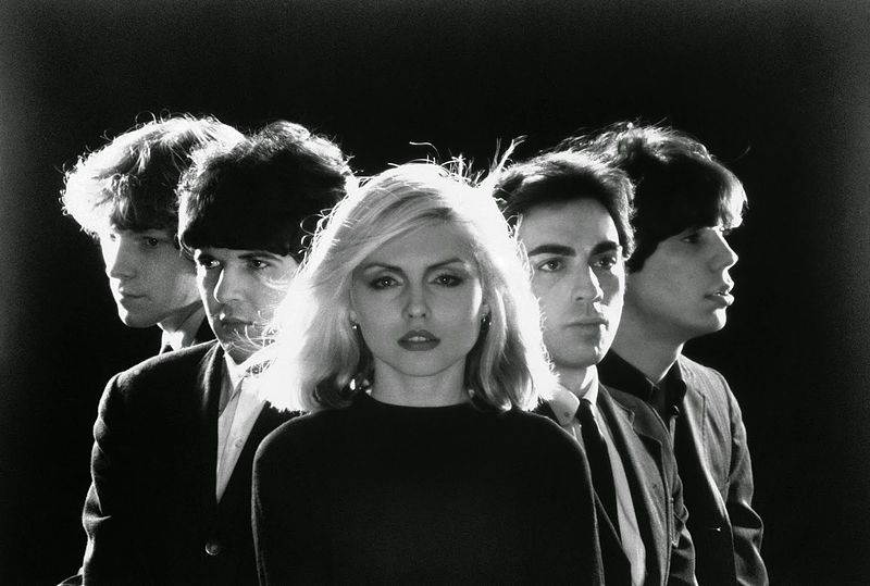 Debbie Harry & Blondie1977 By Private Stock Records (eBay item photo front photo back photo front) [Public domain], via Wikimedia Commons