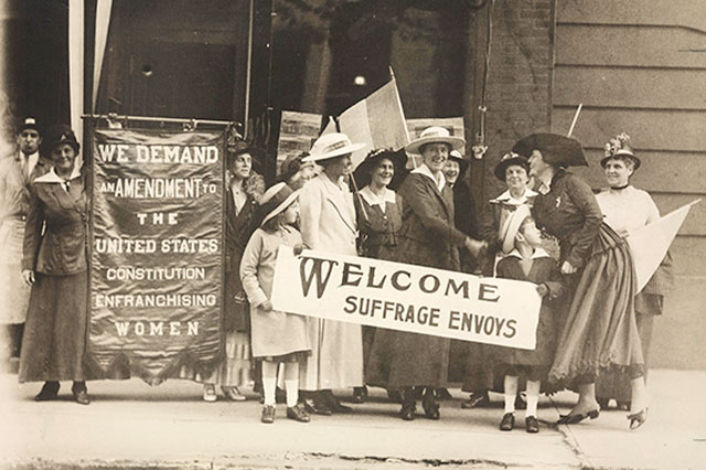 Women Suffragette