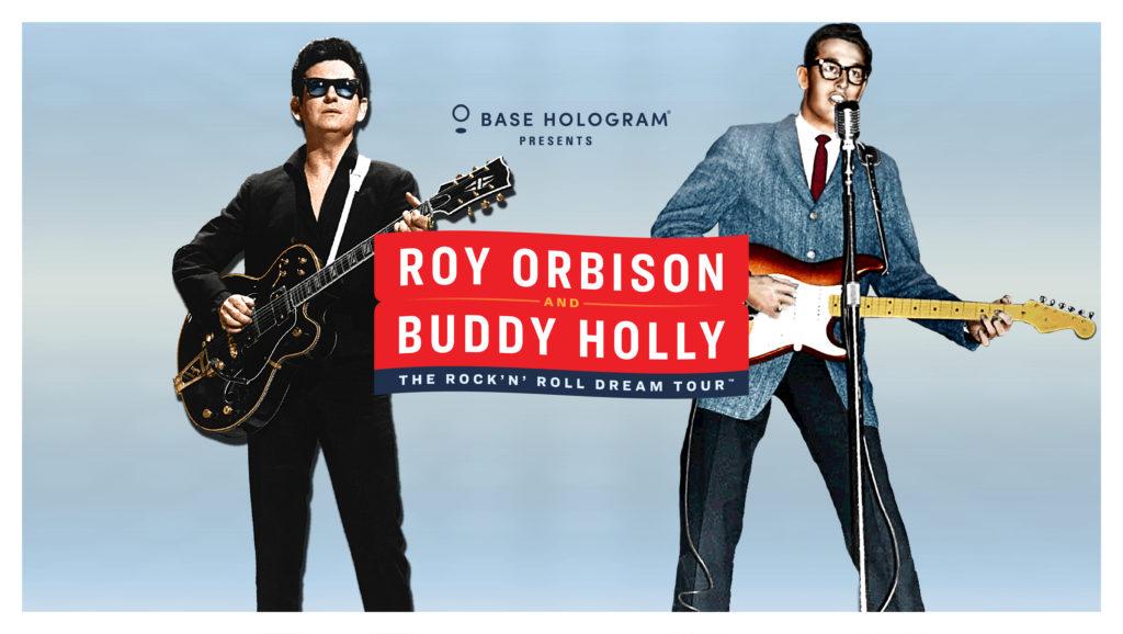 Roy Orbison Buddy Holly ROCK 'N' ROLL DREAM TOUR
