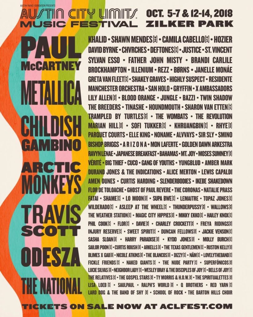 Austin City Limits Festival - Eight Artists to Check Out